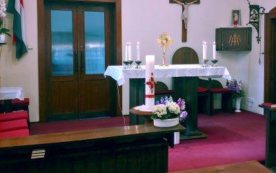 Kamaraerdei kápolnánk hirdetései – szeptember 7-13.