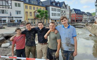 Villámárvíz németországi Apostoli Iskolánkban