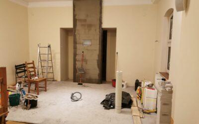 Kamaraerdei kápolnánk családbarát átalakítása