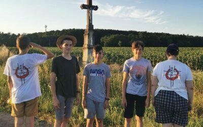 ECyD fiútábor Sármelléken, avagy Vidám nyári élmények az ECyD öt pillérére alapozva