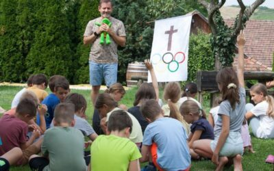 Olimpiai Falu a Cserhát lankái között, avagy képes beszámoló idei NET táborunkról