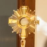 Oltáriszentség a Vándor Evangélium misén